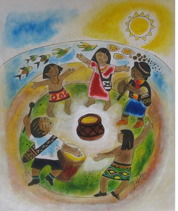 18 octubre nino indigena: