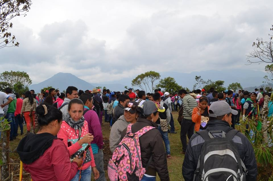 Pueblo Nasa de Tierra-Dentro Realizó Acción Comunitaria en Defensa del Territorio